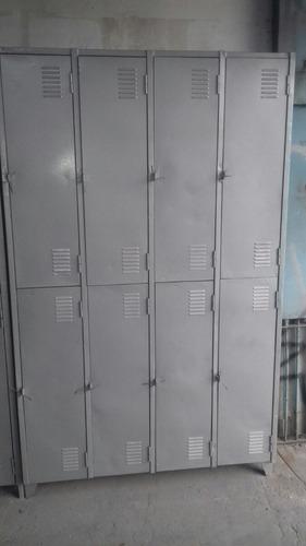 armario  de  vestiário  8 portas grande (usado reformado)
