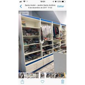 Armário Expositor Para Loja Ou Closed Em Ótimo Estado