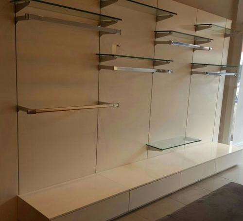 Armario Expositor De Vidro Com Chave : Armario expositor p loja laquedo prateleiras vidro gavetas