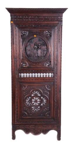 armario, frances. roble. principios del siglo xx