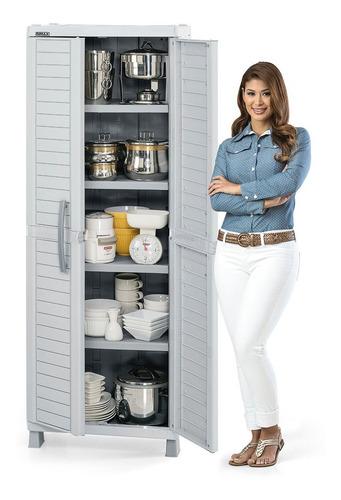 armario grande rimax clasico gris