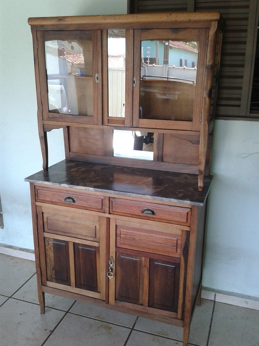 Vendo Armario De Cozinha Antigo : Armario guarda lou?as antigo c marmore italiano only