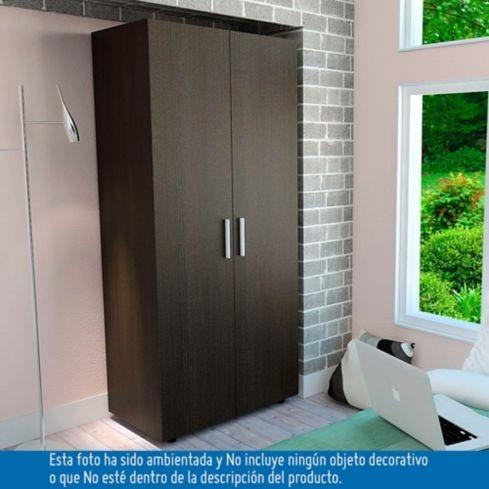 Armario Hogar 2 Puertas 180x80x50 Cm Wengue Rta Design - $ 312.900 ...