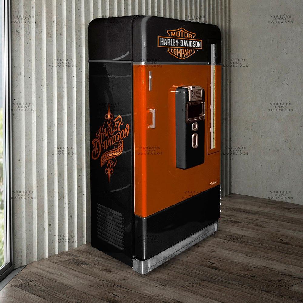Armário Jukebox Com Multimídia E Dvd Harley Davidson - R  9.900 629cdb1470b
