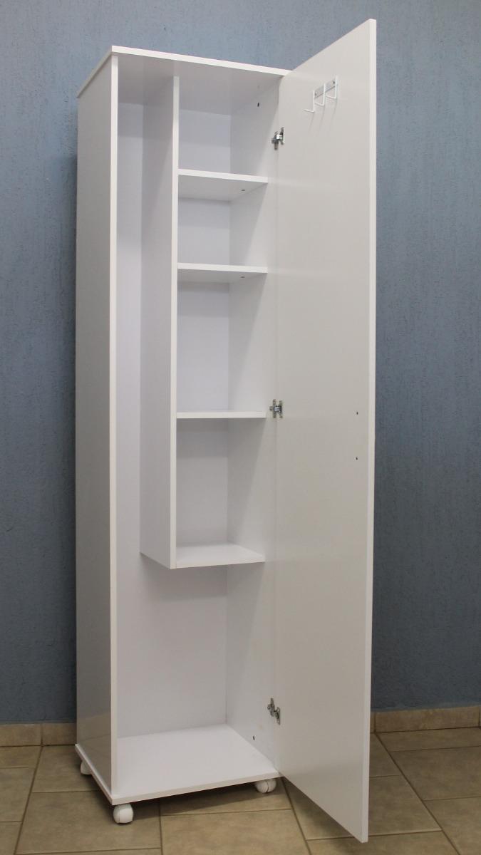 Aparador Branco Lacado ~ Armário Lavanderia Multiuso Mdf R$ 275,00 em Mercado