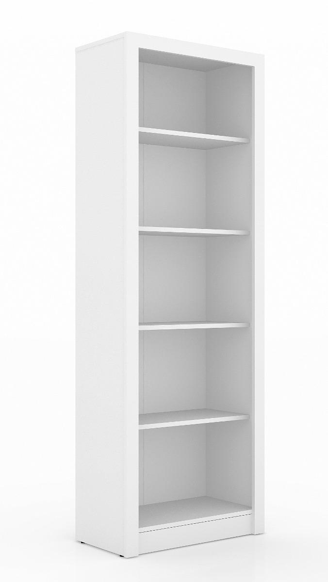 Armario me 04 estante para livros arquivos quarto branca - Estantes para armarios ...