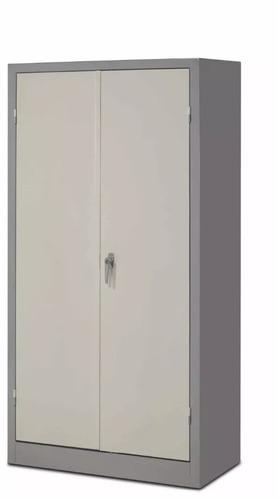armario metálico puertas batiente con 3 estantes