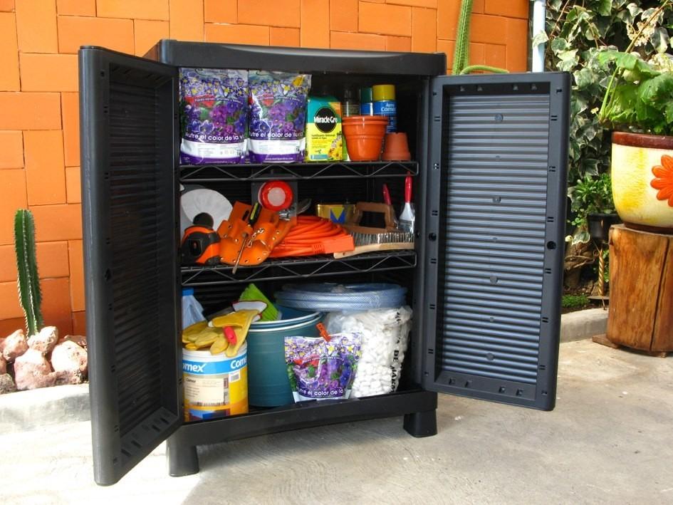 Armario mueble de pl stico para exteriores for Comprar muebles exterior