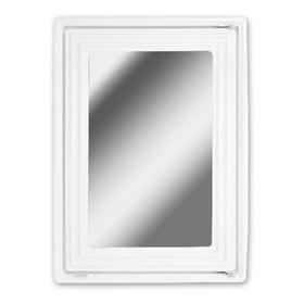 Armário Multi Uso Com Espelho Branco