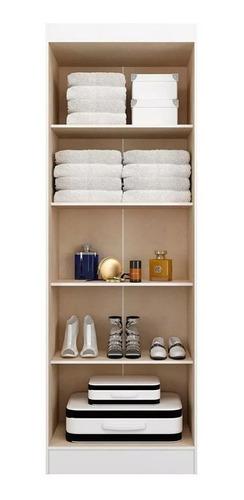 armario multiuso 2 puertas con estantes - ropero - placard