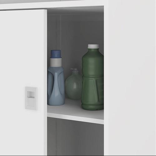 armário multiuso 528 - móveis carraro - branco