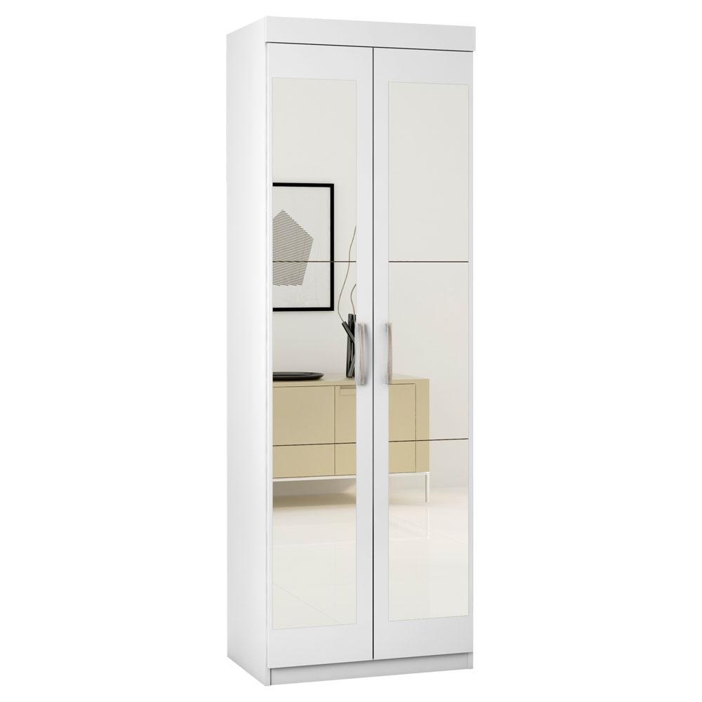 Arm rio multiuso 62x184cm 2 portas c espelho araplac - Armarios para sala de estar ...