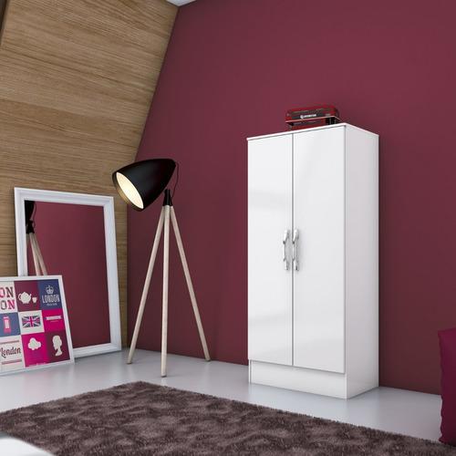 armário multiuso com 2 portas briz branco cbwt