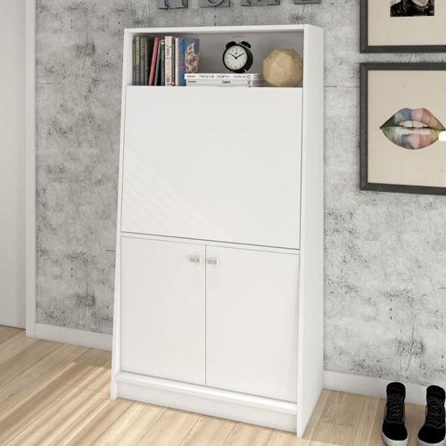 armário multiuso tecnomobili me4136 mdp branco