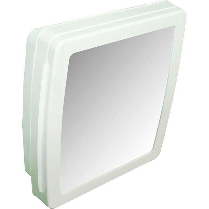 Adesivo Para Salao De Jogos ~ Armário P Banheiro C Espelho + Assento Envolv Branco