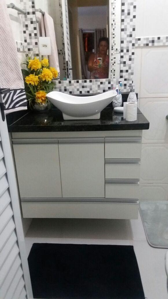 Armario Para Banheiro Sob Medida 100% Mdf Frete Gratis - R