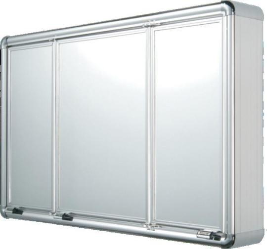 Armário Para Banheiro Super Luxo 3 Portas  R$ 396,00 em Mercado Livre -> Armario De Banheiro Mercado