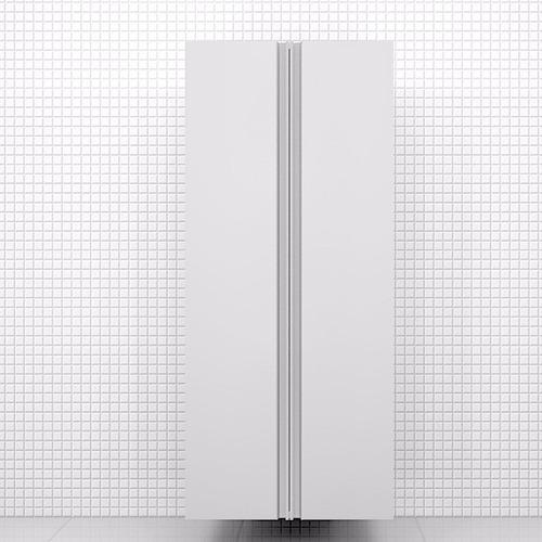 armário para despensa, 2 portas, 1,37x0,60x0,35m, mdf 18mm