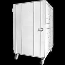 armário para pão francês 58x70cm + 10 assadeiras 5 ondas.