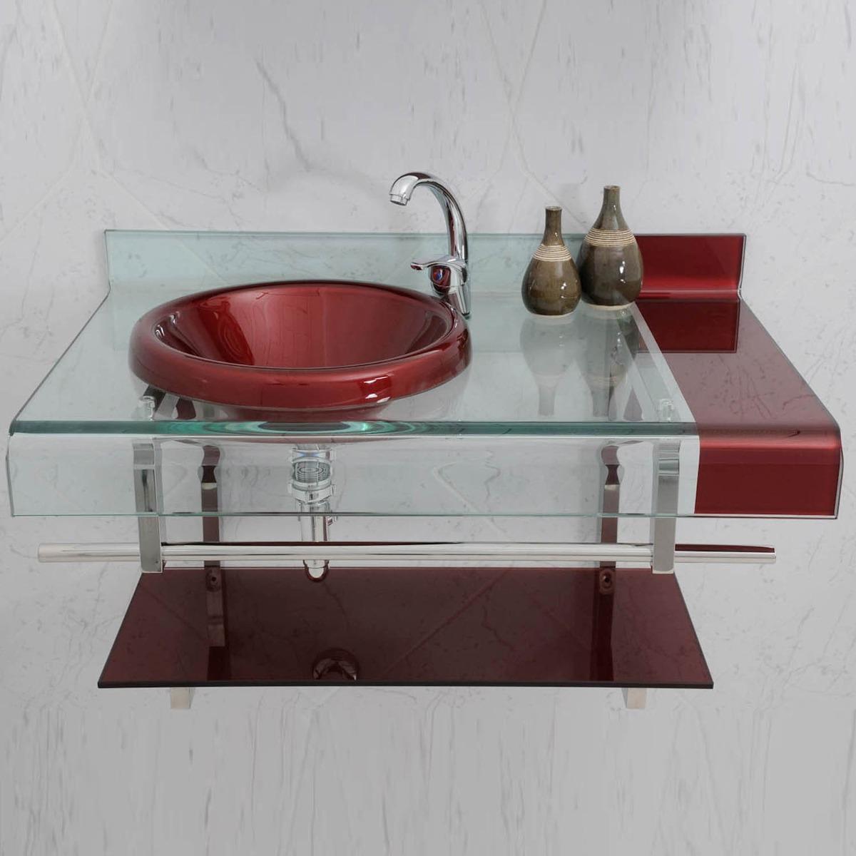 Armario pia Bancada Banheiro Astra Estilo Chopin 70cm  R$ 899,00 em Mercad -> Pia Para Banheiro Mercado Livre