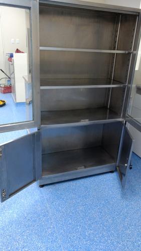 armario porta medicinas acero inox