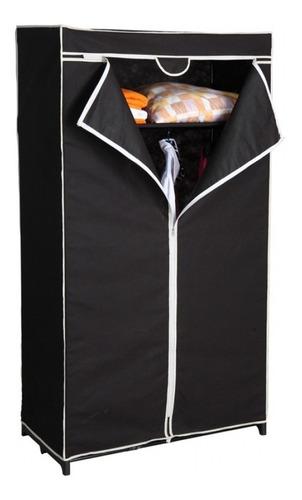 armario ropero placard en tela negro - varios modulos