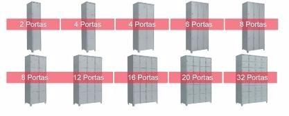 armário roupeiro aço vestiário metal só novos