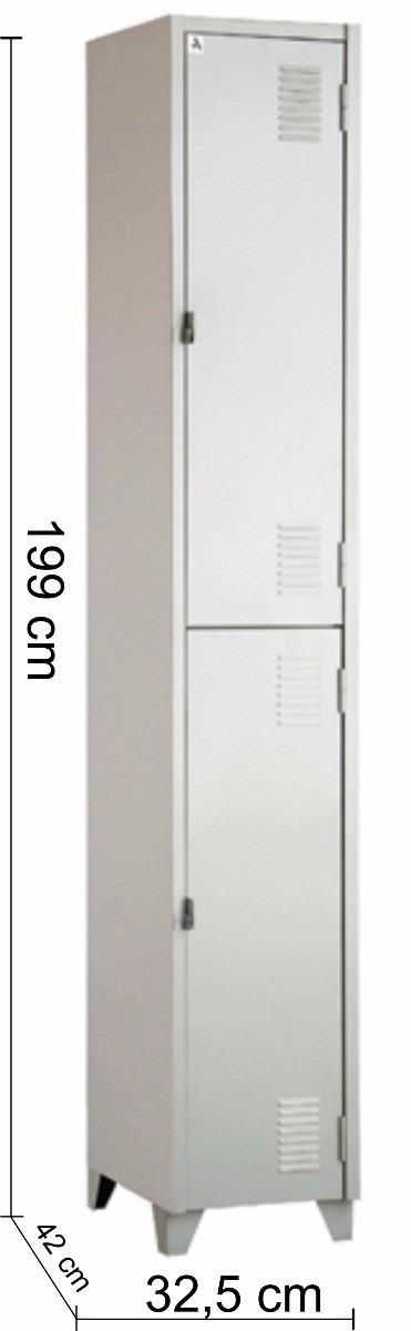 Adesivo Idoso Detran Rs ~ Armário Roupeiro De Aço Para Vestiário 2 Portas Locker R$ 189,60 em Mercado Livre