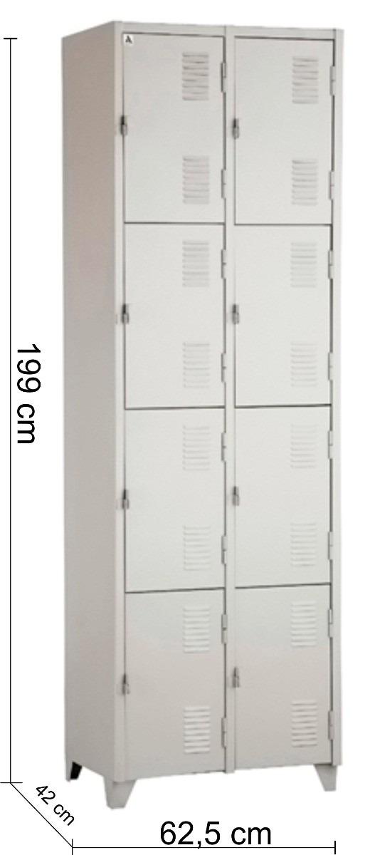 Adesivos De Coração Para Caderno ~ Armário Roupeiro De Aço Vestiário Academia 8 Portas Locker R$ 311,90 em Mercado Livre