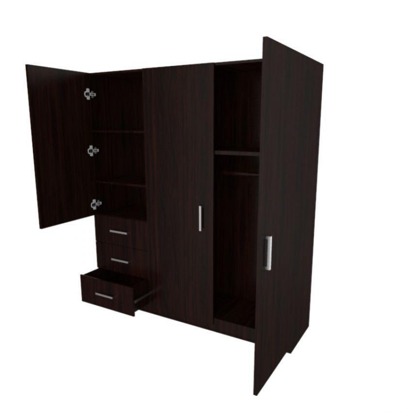 Armario Venecia Rta Design-wengue - $ 636.870 en Mercado Libre