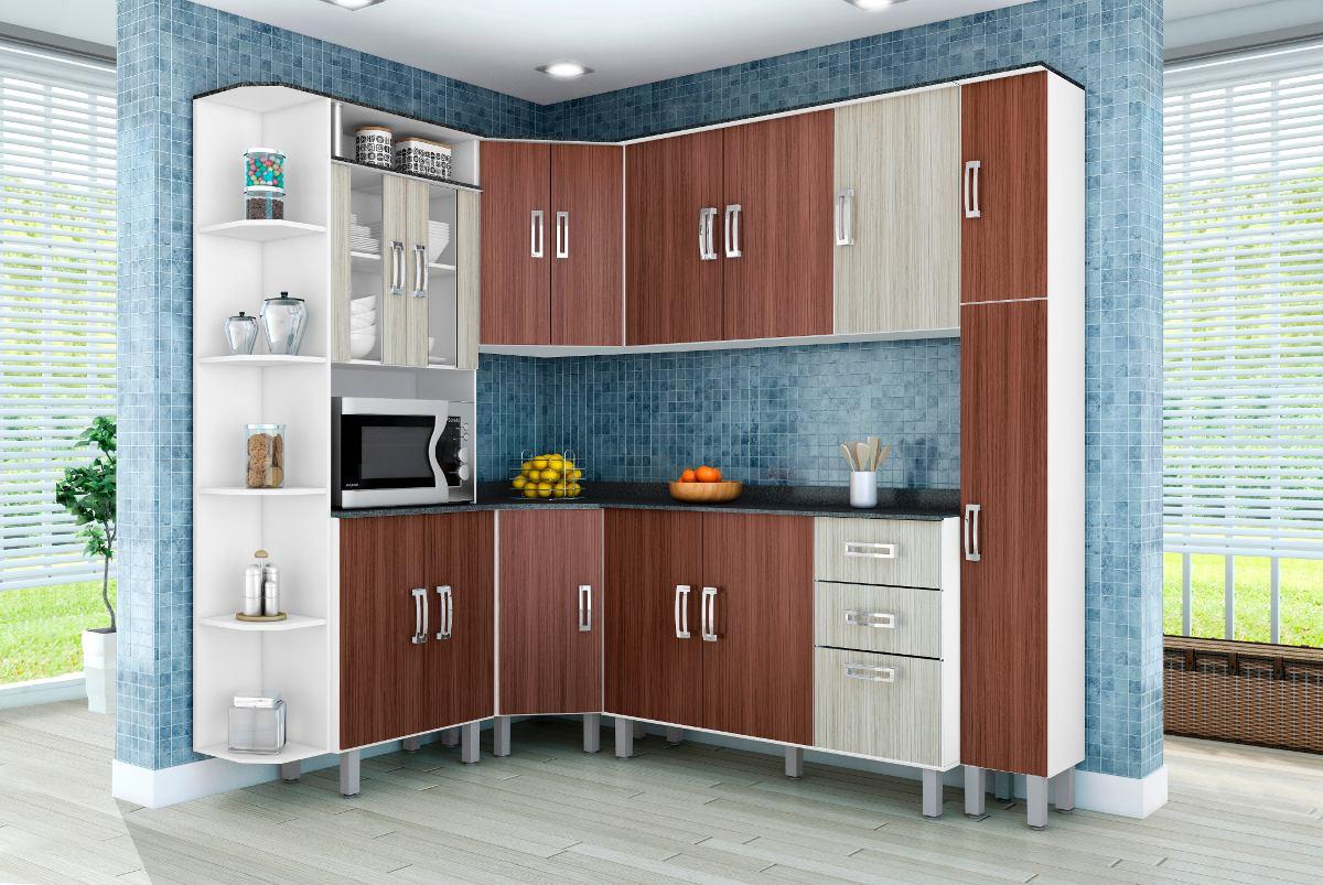 Armario De Cozinha Completo Com Balcao Oppenau Info