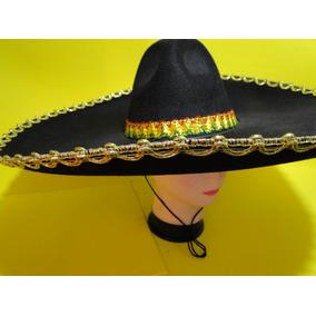 97540a3b07b98 Sombrero   Chapeu Mexicano Bordado no Mercado Livre Brasil