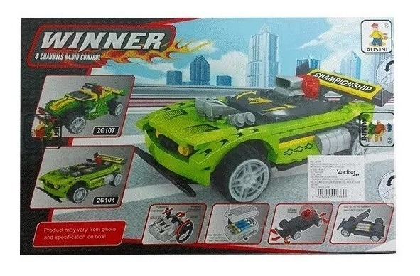 660d03d7f Armatodo Carro Control Remoto 187 Piezas Compatible Lego - $ 56.000 ...