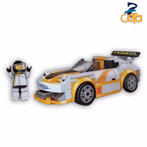 armatodo racer racing car  173 piezas