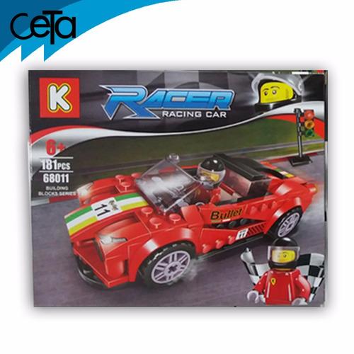 armatodo racer racing car 181 piezas