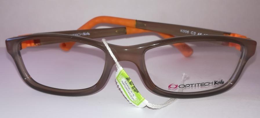f0e4561e75 armazón anteojo lente recetado niño optitech k006 flexible. Cargando zoom.