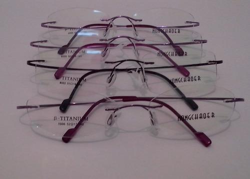 armazón de lentes ultraligero y flexibles 100% titanio nuevo
