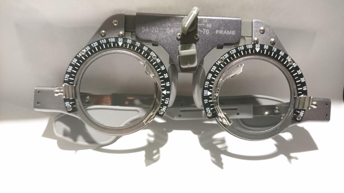 armazon de pruebas lentes titanio oftalmologia optometria. Cargando zoom. 49316f792b