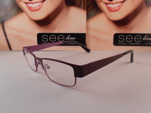 armazon oftalmico 650 d color purpura