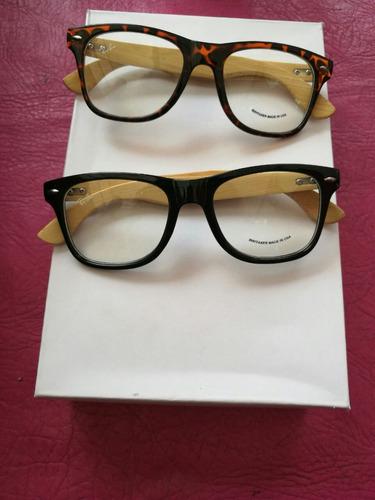 armazón oftalmico lentes bambu bamboo madera