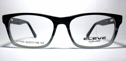 armazón para lentes de zilo para caballero estilo clasico