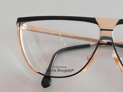 armazón vintage marca laura biagiotti