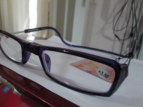 armazón violeta lectura + 3.50 magneticos con envió y 18 msi