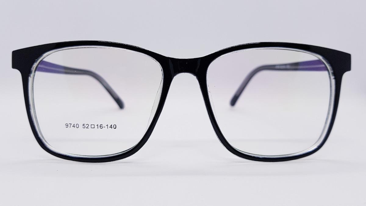 8aa9dcd25b armazones anteojos gafas marcos hombre rectangulares clasic. Cargando zoom.
