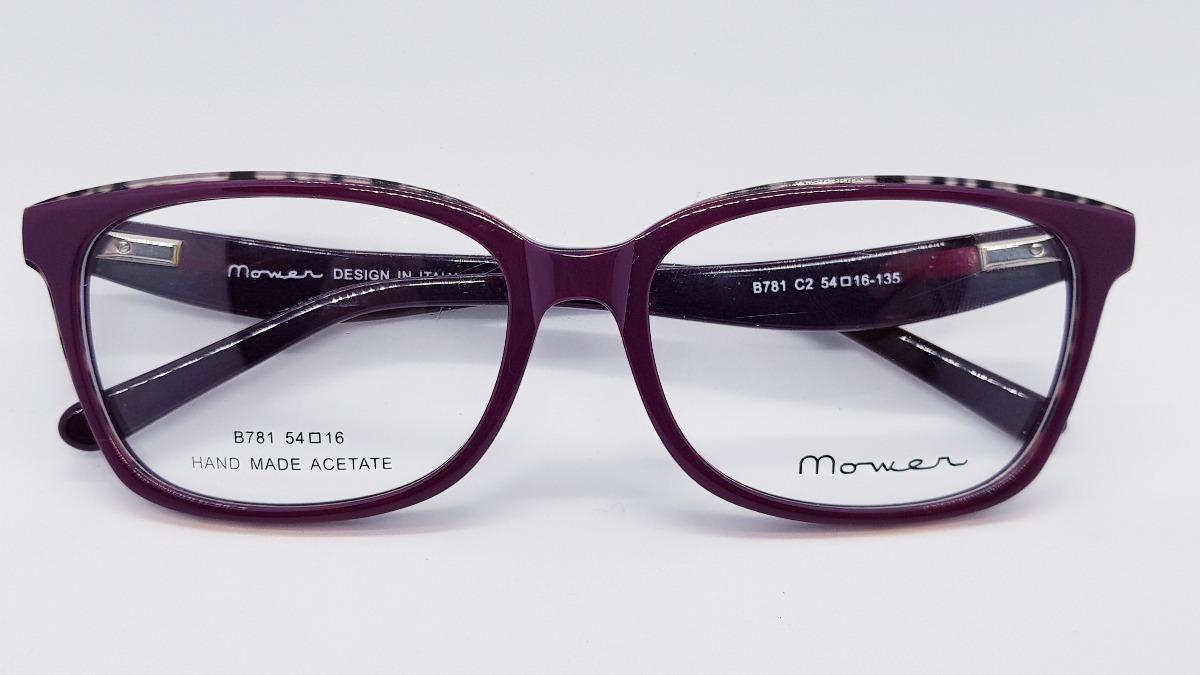 Armazones Anteojos Marcos Gafas Mujer Acetato Super Moderno ...