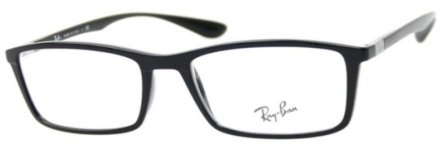 12d3ca61dc3 armazones oftalmicos ray ban rb 7048 5206 shiny black. Cargando zoom.