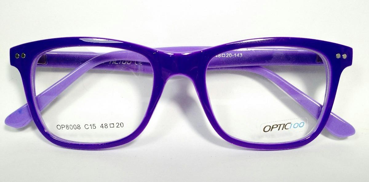Armazones Para Lentes Gafas Marcos Para Anteojos Colores - $ 595,00 ...