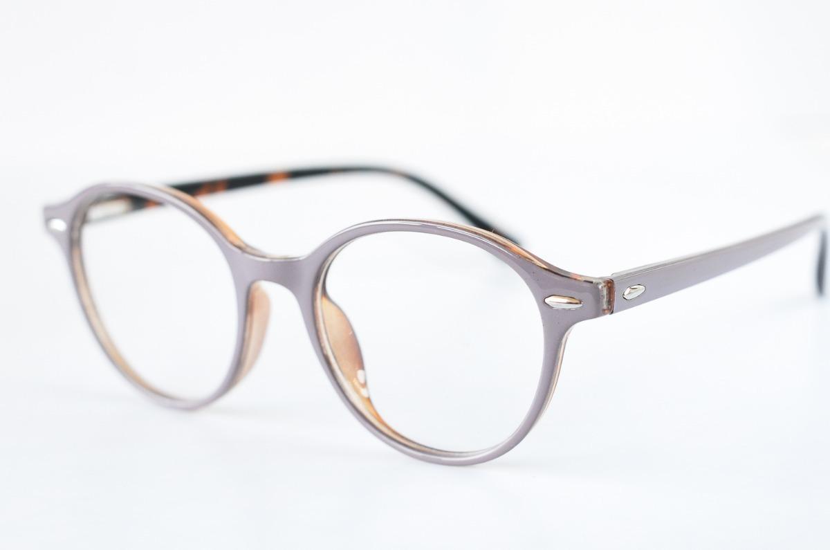 154eeb0d58 armazones para lentes opticos semi redondos rosa pálido. Cargando zoom.
