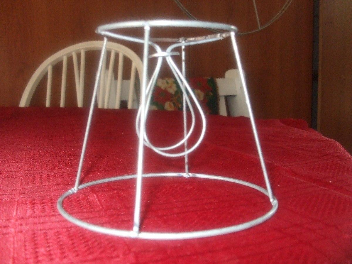 Hacer pantallas de lamparas como decorar pantalla - Estructuras para lamparas ...