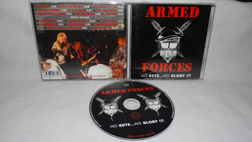 armed forces- no gusts...no glory !!! ( reverend steel proph